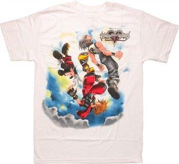 Kingdom Hearts Dream Drop Distance Cover Art T-Shirt