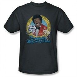 The Love Boat Shirt Booze Cruise Charcoal T-Shirt