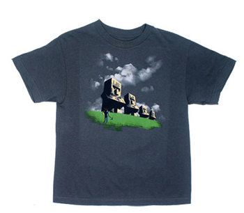 Statues - Minecraft Youth T-shirt