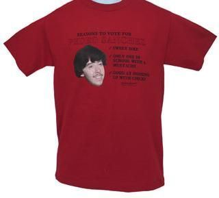 Napoleon Dynamite Reasons to Vote for Pedro Sanchez T-shirt