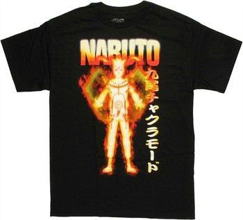 Naruto Shippuden Nine-Tails Chakra Mode with Chakra Arms T-Shirt