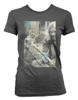 Nirvana Kurt Cobain Sepia Photo Women's T-shirt