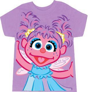 Sesame Street Abby Cadabby Fairy Lilac Purple Toddlers T-Shirt