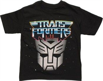 Transformers Autobot Space Logo Juvenile T-Shirt