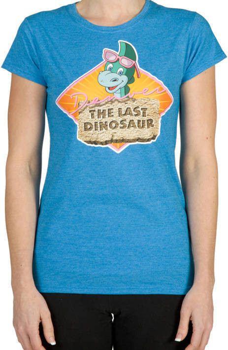 Ladies Denver the Last Dinosaur Shirt