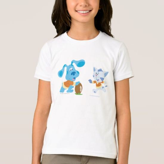 Blue's Clue - Hut One, Hut Two, Hut BLUE! T-Shirt