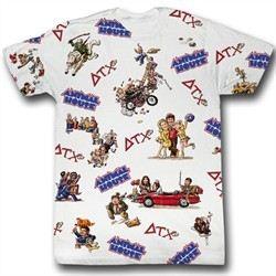 Animal House Shirt Animal House Adult White Tee T-Shirt