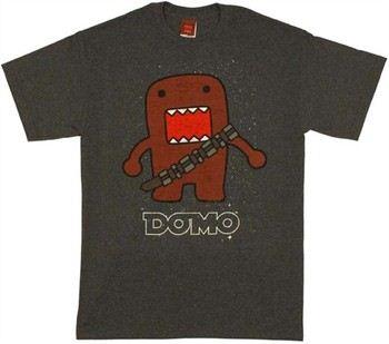 Domo-Kun Chewbacca Stars T-Shirt