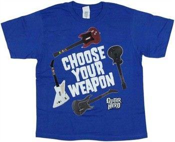 Guitar Hero Choose Your Weapon Youth T-Shirt