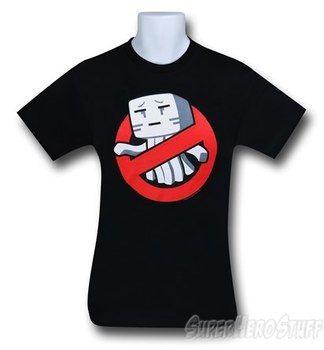 Minecraft Ghastbuster T-Shirt