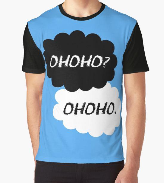 'Haikyuu!! - Ohoho? Ohoho.' Graphic T-Shirt by sylnae T-Shirt