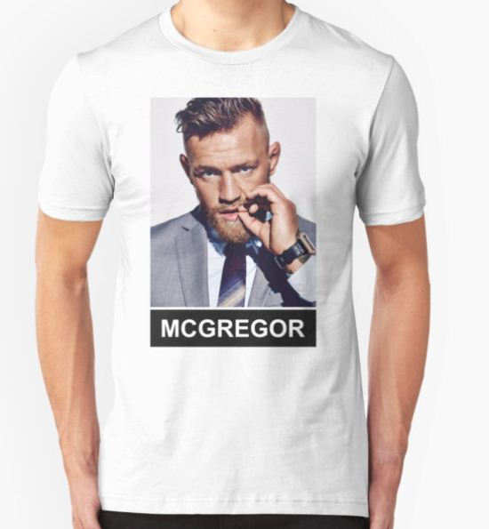 Conor McGregor - Notorious T-Shirt by AshvilleDesiign T-Shirt