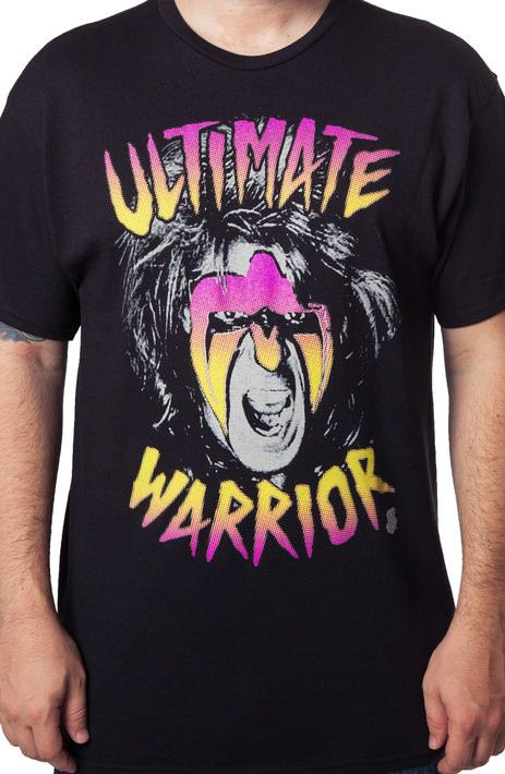 Face Ultimate Warrior T-Shirt