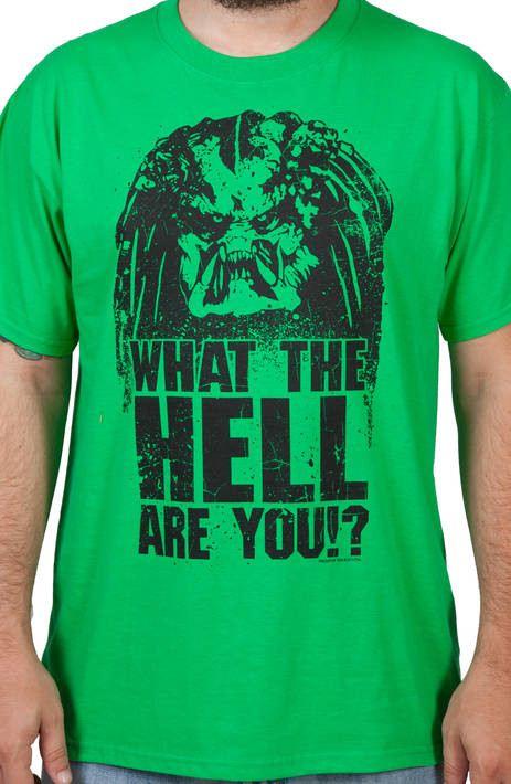 What The Hell Predator Shirt