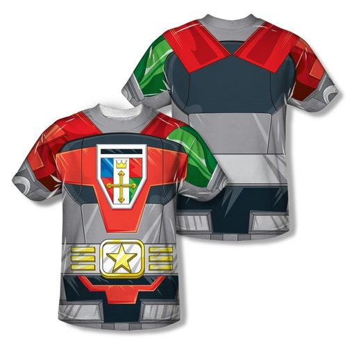 Voltron Defender of the Universe Adult Sublimation Costume T-Shirt