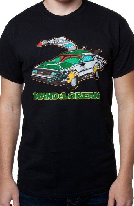 Black ManDeLorean T-Shirt