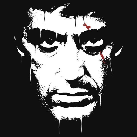 Scarface by quickoss T-Shirt
