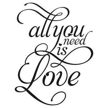 ALL YOU NEED IS LOVE Beatles inspired T