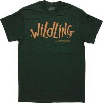 Game of Thrones Wildling Word T-Shirt