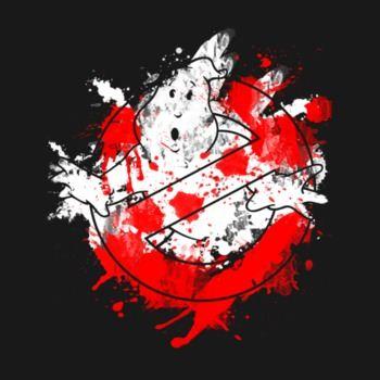 Ghostbusters Paint Splatter
