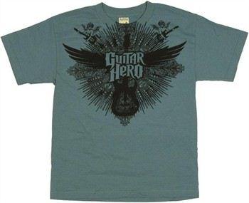 Guitar Hero Winged Guitar Youth T-Shirt