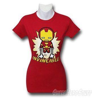Iron Man Kawaii Invincible! Women's T-Shirt