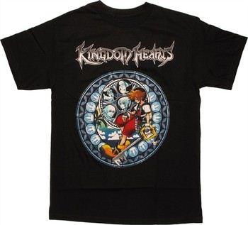 Kingdom Hearts Sora Circle Window T-Shirt