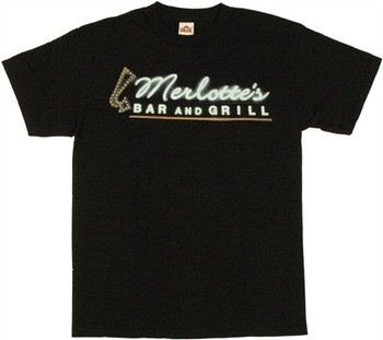 True Blood Merlotte's Bar and Grill Sign T-Shirt