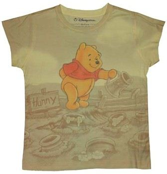 Disney Winnie the Pooh Growing Honey Sublimated Baby Tee