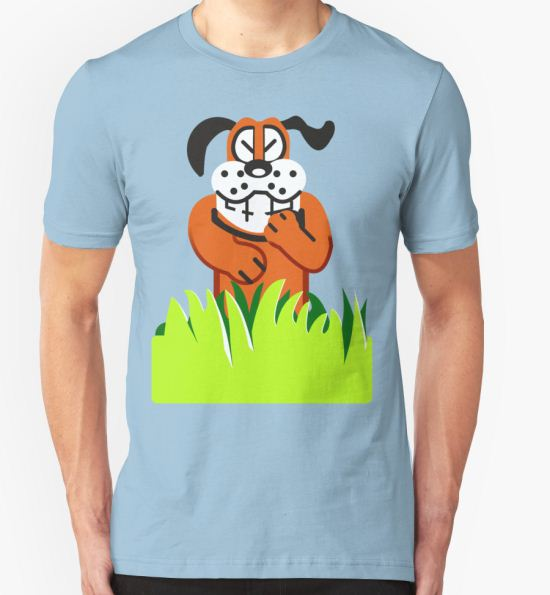 Duck Hunt game loser T-Shirt by phobos T-Shirt
