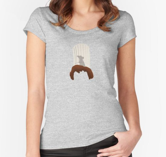 Ratatouille Linguini Remy Women's Fitted Scoop T-Shirt by Lina LaVonne Designs T-Shirt