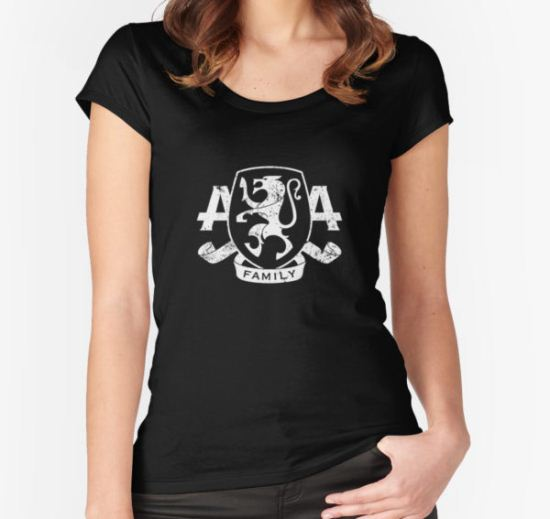 asking alexandria Women's Fitted Scoop T-Shirt by begundalsajak T-Shirt