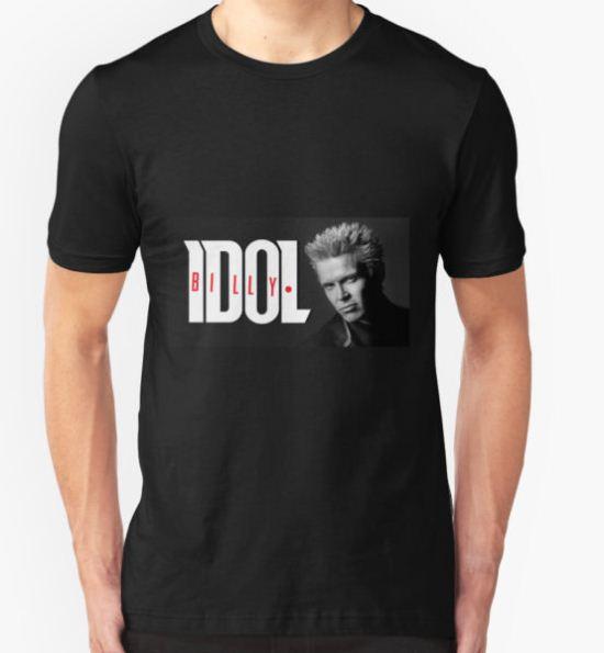 BILLY IDOL T-Shirt by 01Gagak T-Shirt