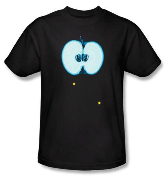 Fringe T-shirt TV Show Apple Glyph Adult Black Tee Shirt