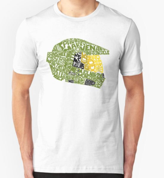 Halo text Art T-Shirt by Alessandro Ionni T-Shirt