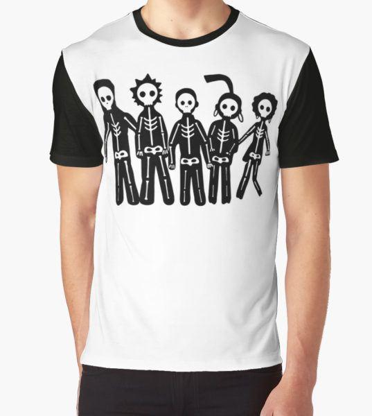 Misfits Lightning Graphic T-Shirt by RaydenLight T-Shirt