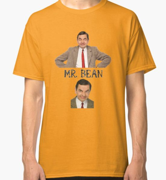 Mr. Bean - The Faces Classic T-Shirt by TheTubbyLife T-Shirt