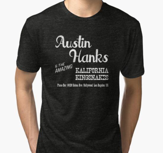 Austin Hanks and the amazing Kalifornia Kingsnakes Tri-blend T-Shirt by eastKilroy T-Shirt