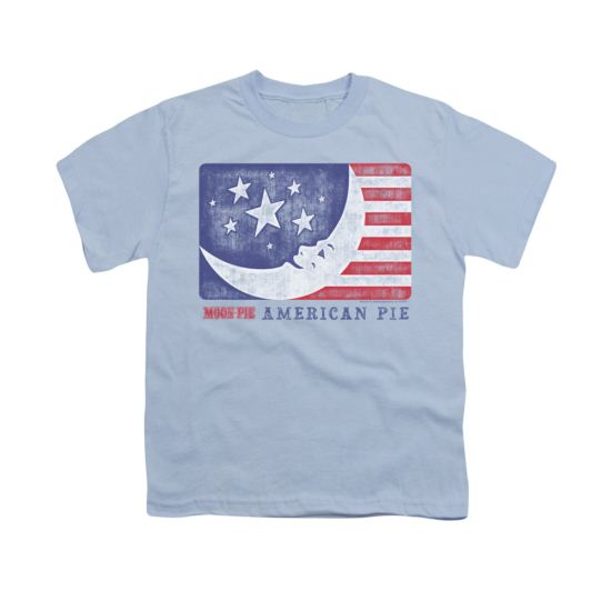 Moon Pie Shirt Kids American Pie Light Blue T-Shirt