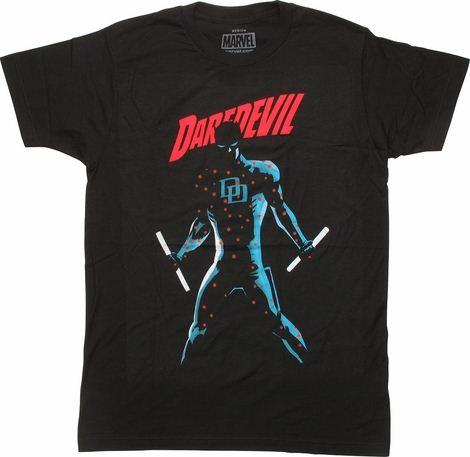 Daredevil Laser Targets T-Shirt Sheer