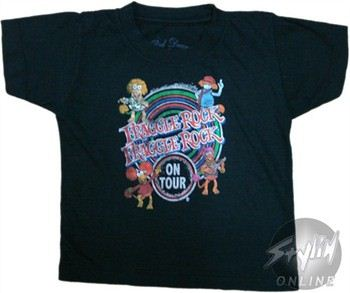 Fraggle Rock On Tour Toddler T-Shirt