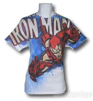 Iron Man Descending Sublimated T-Shirt