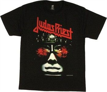 Judas Priest Killing Machine / Hell Bent for Leather Cover T-Shirt