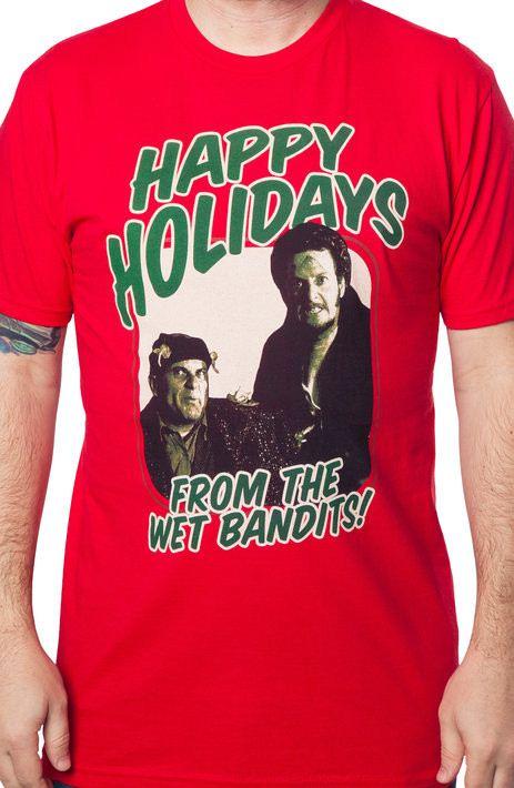 Happy Holidays Wet Bandits T-Shirt