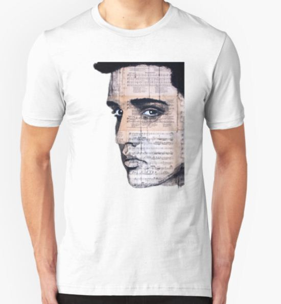 Elvis Presley T-Shirt by Krzyzanowski Art T-Shirt