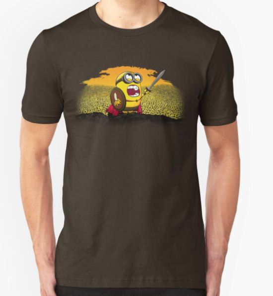 300 Minions T-Shirt by TheSuperSheep T-Shirt