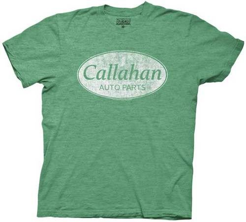 Tommy Boy Callahan Auto Parts Heather Green T-shirt
