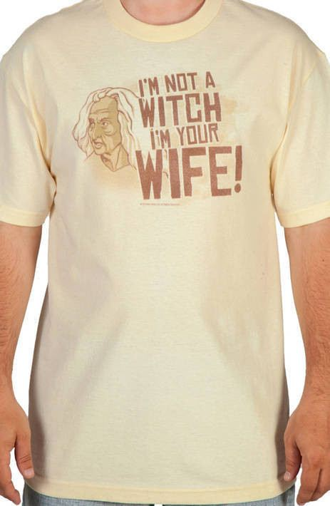 Not A Witch Princess Bride Shirt