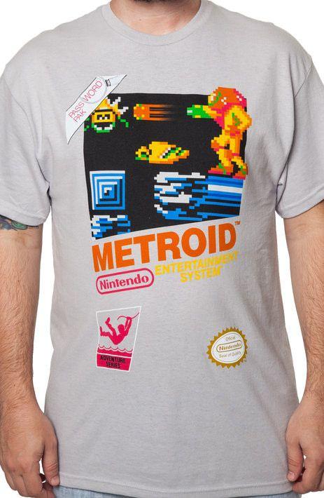 Cartridge Metroid T-Shirt