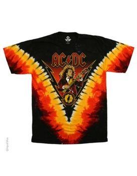 AC/DC Angus Lightning Men's T-shirt